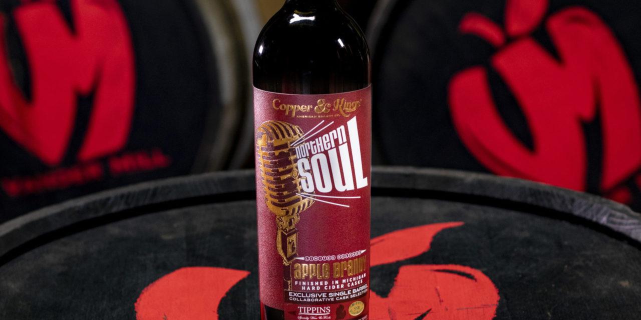 Copper & Kings presenta Northern Soul American Apple Brandy, brandy acabado en barril de sidra