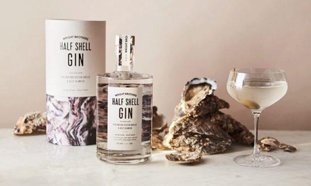 Wright Brothers crean Wright Brothers Half Shell Gin, ginebra con conchas de ostras