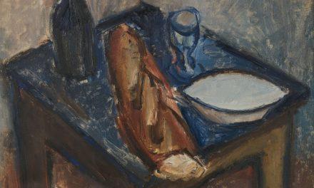 """""""Bodegón con baguette de pan"""" (1928), de Jean Hélion"""