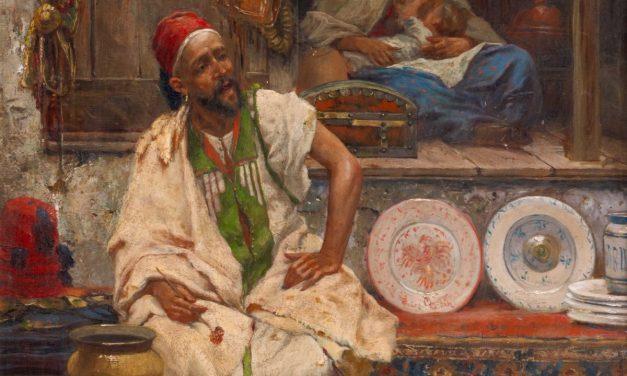 """""""Un bazar oriental"""" (1869), de José Echena"""
