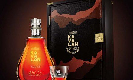 King Car lanza embotellado por el 40 aniversario del whisky Kavalan