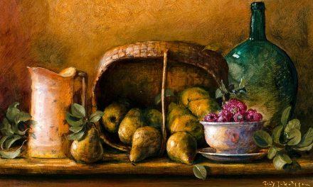 """""""Bodegón con peras"""" (1989), de Fritz Jakobsson"""