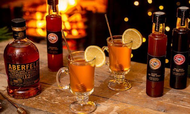 Aberfeldy y World of Zing crean Hot Toddy syrups