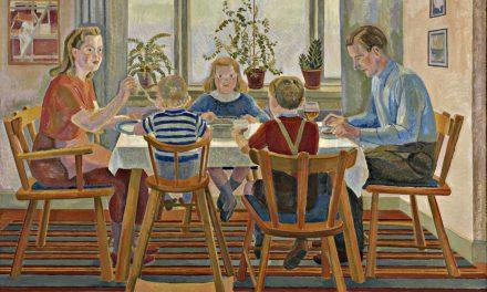 """""""En la mesa"""" (1915), de Aksel Jørgensen"""