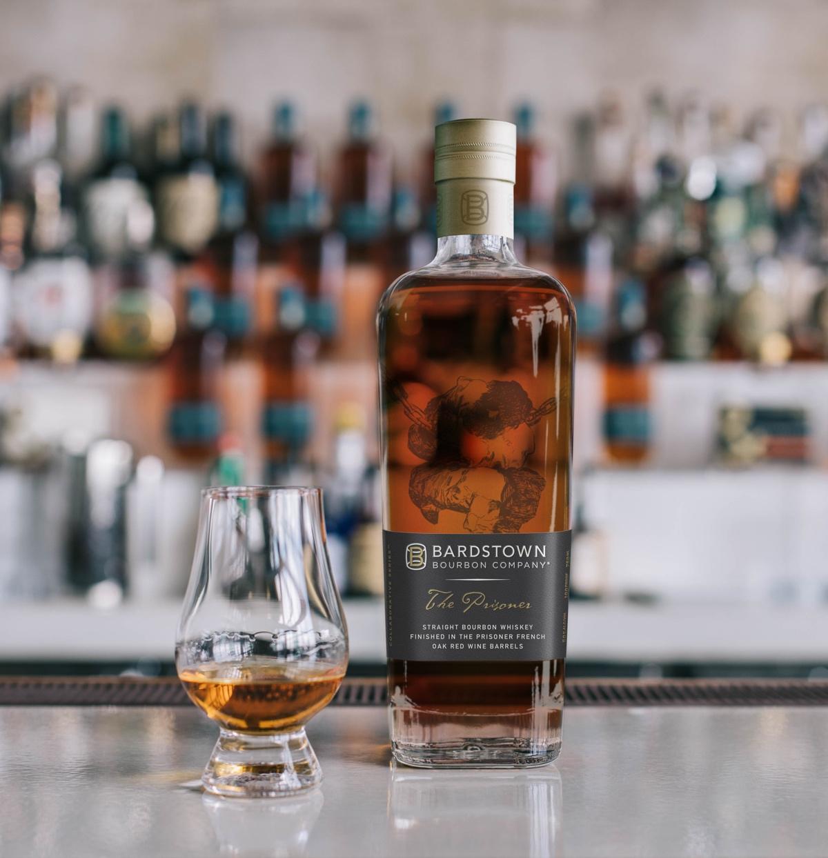 Bardstown Bourbon Company The Prisoner Wine Company Collaboration Bottle