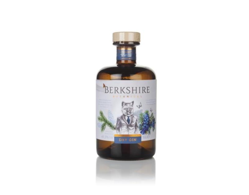 Berkshire Botanical Dry Gin, puntas de los árboles de Navidad como botánico