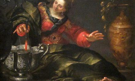 """""""Circe Mulling Wine"""" (1630), de Gioacchino Assereto"""