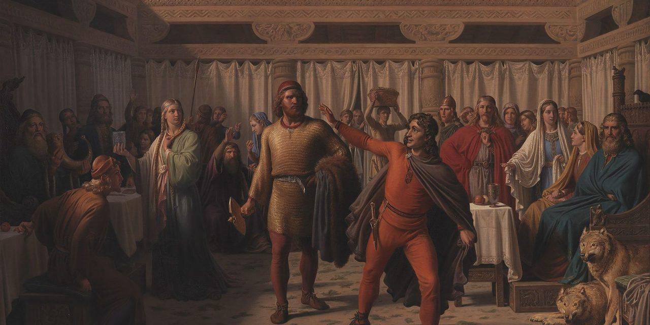 """""""Fiesta"""" (1857), de Constantin Hansen"""