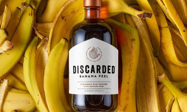 Discarded crea ron con cáscara de plátano, Discarded Banana Peel Rum