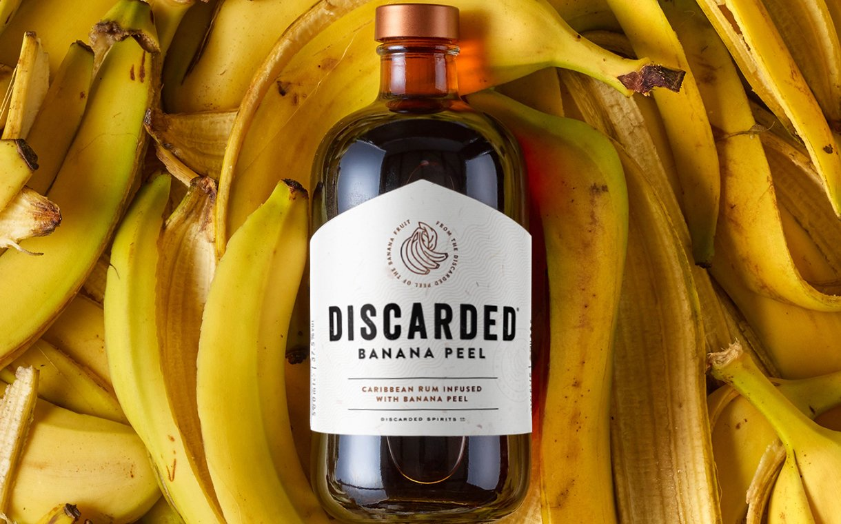 Discarded Banana Peel Rum