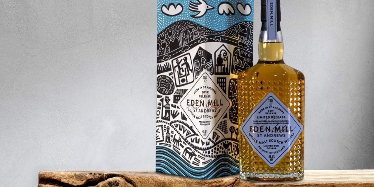 Eden Mill lanza una malta única con influencia de jerez, Eden Mill St Andrews 2019 whisky