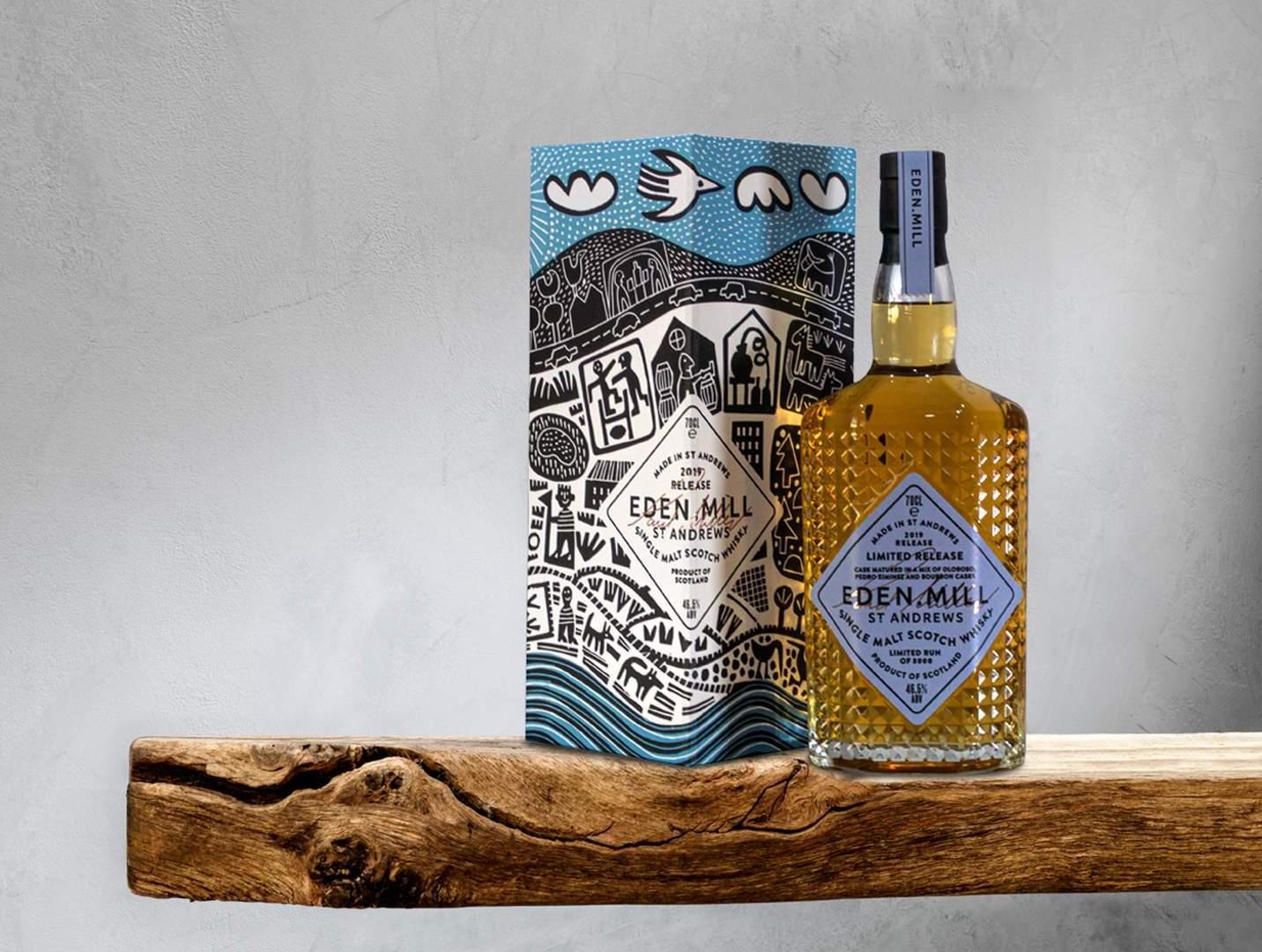 Eden Mill St Andrews 2019 whisky