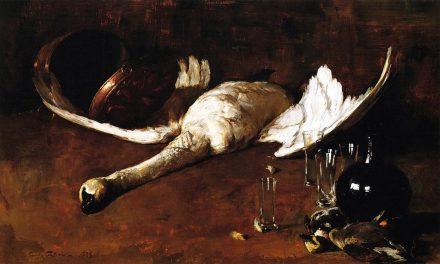 """""""Bodegón con ganso"""" (1880), de Emil Carlsen"""