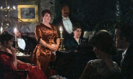 """""""Un dúo"""" (1887), de Marie Kroyer"""
