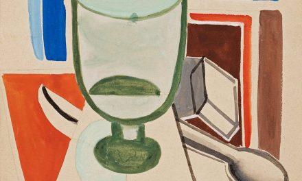"""""""Bodegón con copa de vino"""" (1924), de Franciska Clausen"""