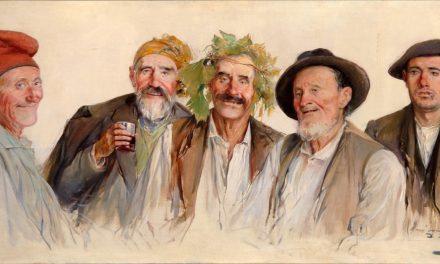 """""""Los bebedores"""" (1888), de Luis Graner"""