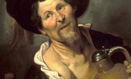 """""""El bebedor alegre"""" (1624-1626), de Gerard Seghers"""