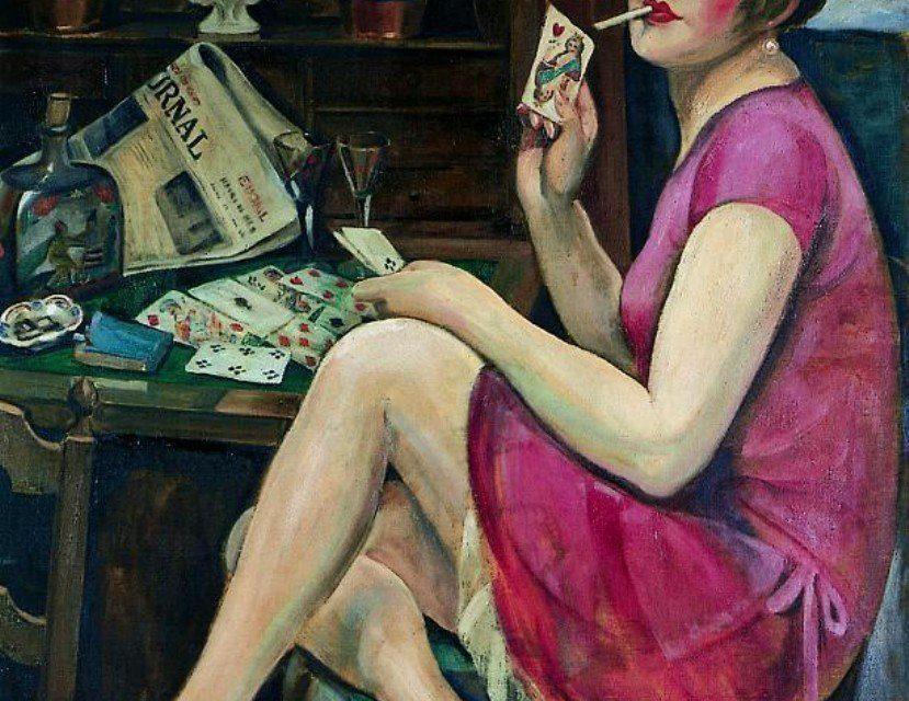 """Una mujer"" (1912), de Gerda Wegener"