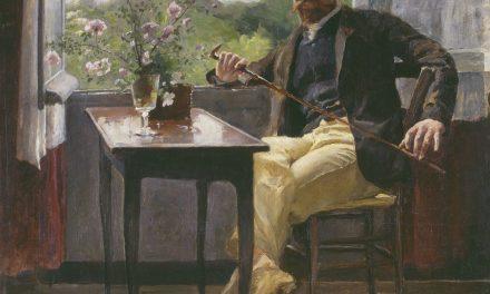 """""""Retrato de Georg Pauli"""" (1886), de Hanna Pauli"""