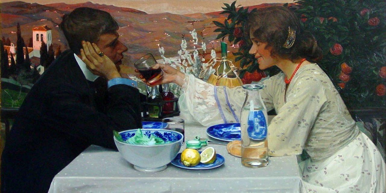 """""""Primavera"""" (1909), de Harald Slott-Møller"""