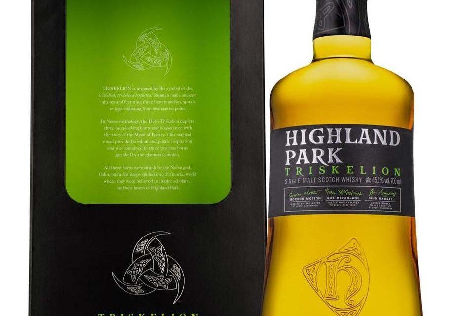 Highland Park Triskelion reúne a tres maestros fabricantes de whisky