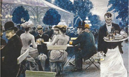"""En el Glass Hall de Tivoli"" (1890), de Paul Fischer"