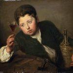 """""""El joven degustador de vinos"""" (1723), de Philippe Mercier"""