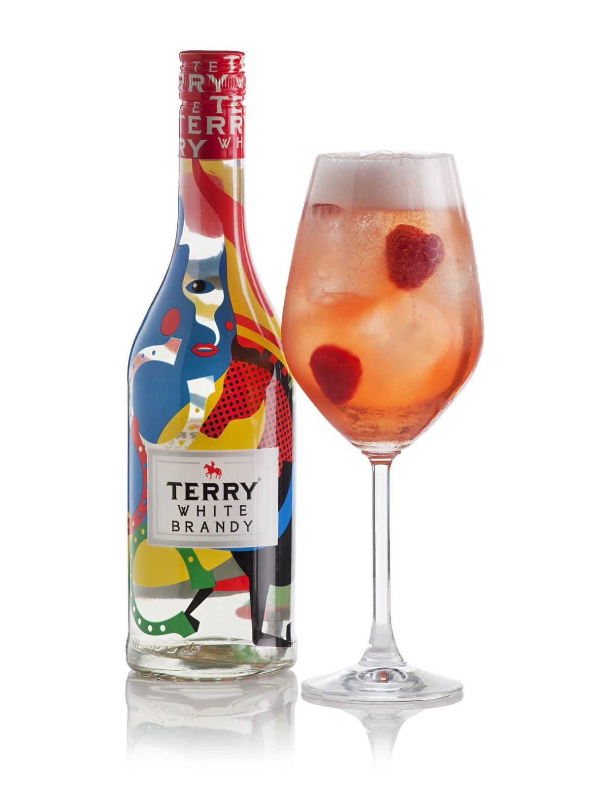Terry Rosa + botella