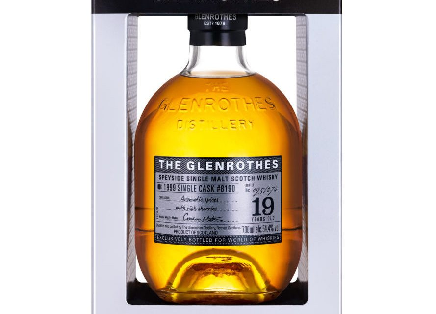 The Glenrothes Exclusive Single Cask se lanza en World Duty Free