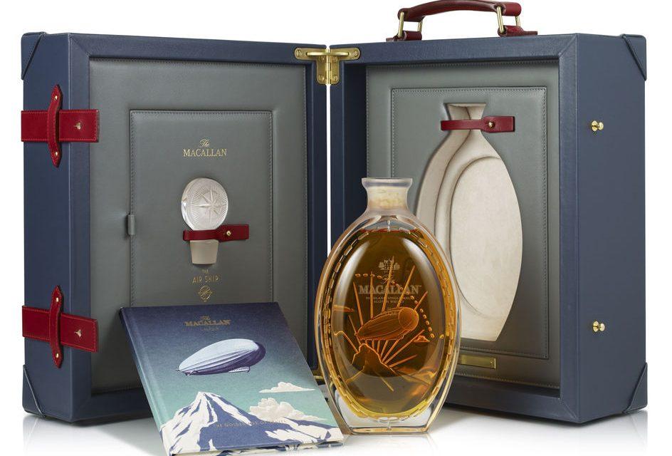 Macallan estrena The Golden Age of Travel: The Air Ship, el último whisky de la gama inspirada en los viajes