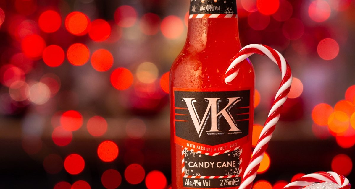 VK lanza Candy Cane flavour y pack festivo