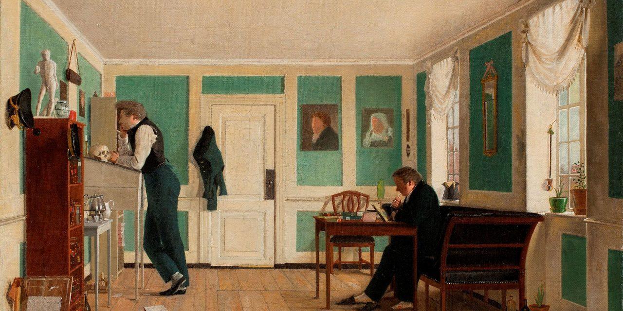 """""""Cuarto en Amaliegade"""" (1826), de Wilhelm Bendz"""