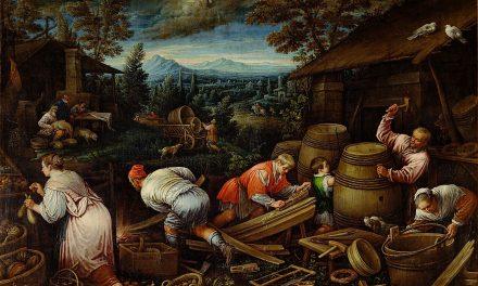 """""""Agosto"""" (1595-1600), de Leandro Bassano"""