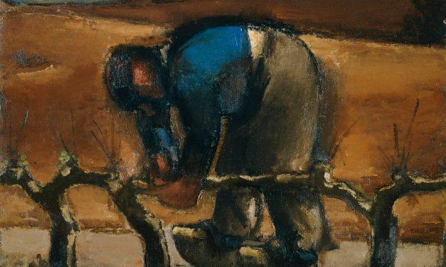 """""""Poda de viñas"""" (1952), de Josef Herman"""