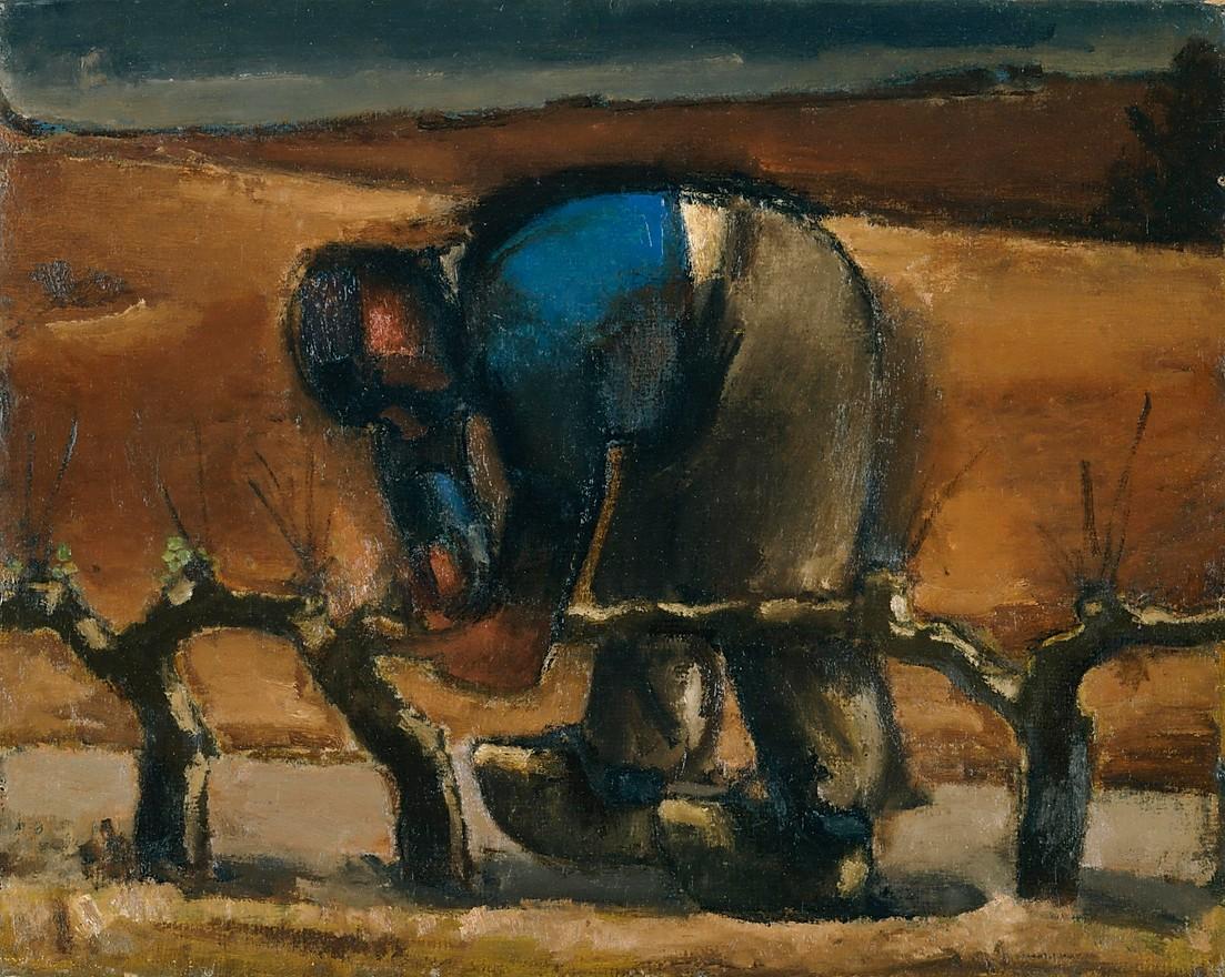 Poda de viñas (1952), de Josef Herman
