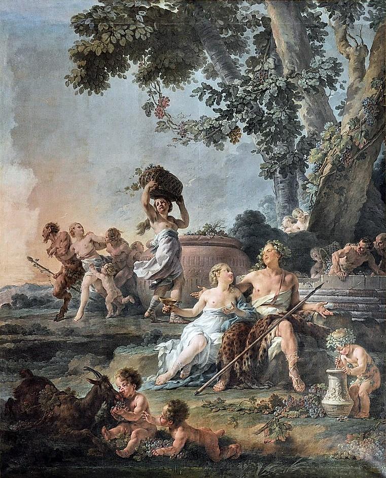 Vendimia (1776), de Noël Hallé