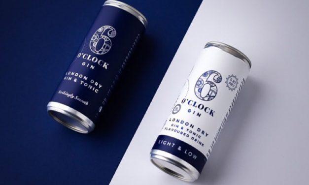 Bramley & Gage crea G&T enlatados de bajo ABV con 6 O'clock Gin