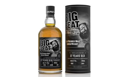Big Peat 27 Years Old Black Edition completa la serie Vintage