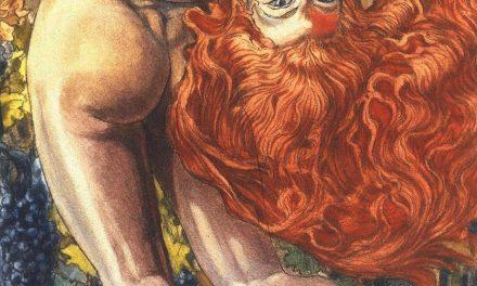 """""""El Alma del Vino"""" (1900), de Carlos Schwabe"""