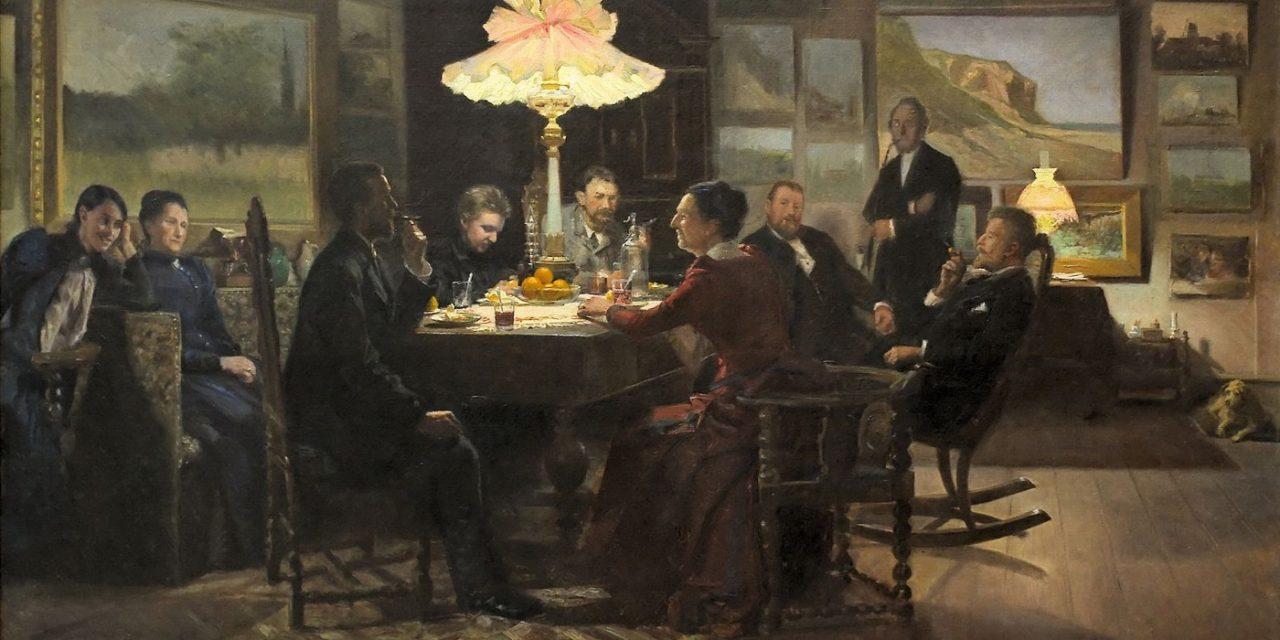 """""""Después de regresar a casa"""" (1892-93), de Emilie Mundt"""