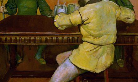 """""""Bebedores"""" (1894), de Ferdinand Hodler"""