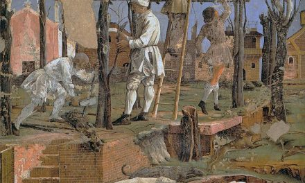 """""""Alegoría de marzo: triunfo de Minerva"""" (1476-1484), de Francesco del Cossa"""