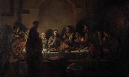 """""""La última cena"""" (1664), de Gerbrand van den Eeckhout"""