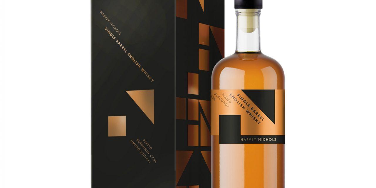 Harvey Nichols crea Harvey Nichols Peated Burgundy Cask Single Barrel English Whisky
