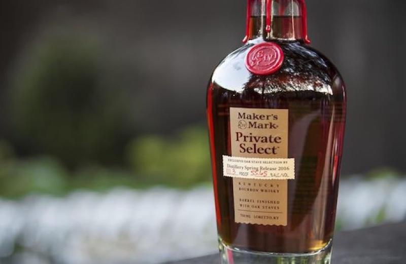 Maker's Mark lanza el whisky Private Select en GTR