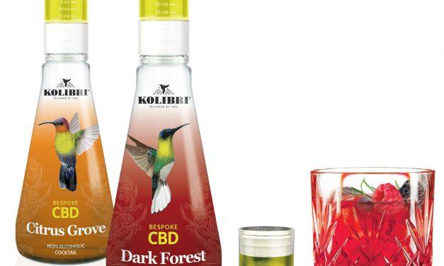 Kolibri sin alcohol se expande con cócteles CBD