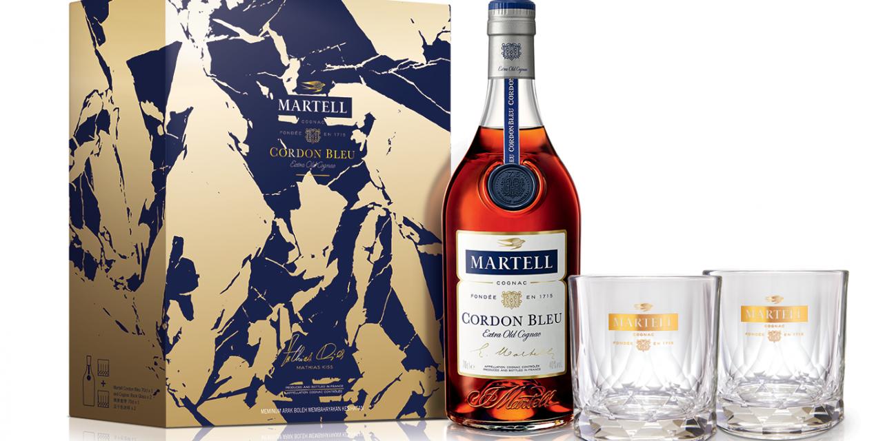 Pernod Ricard GTR lanza una edición limitada de Martell Cordon Bleu por el Año Nuevo chino