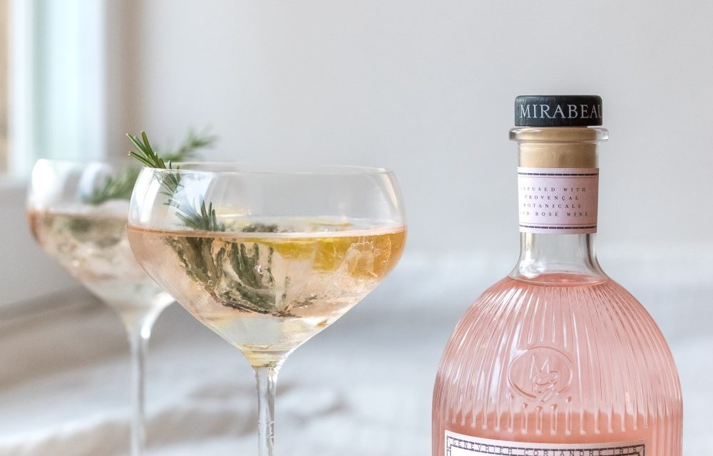 Mirabeau Rosé Gin, última expresión rosa