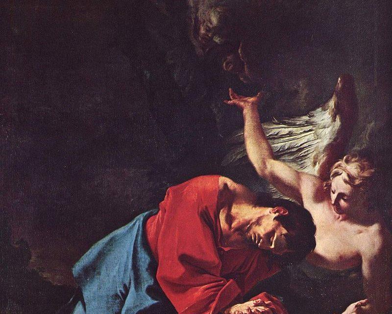 """""""Cristo en el Monte de los Olivos"""" (hacia 1750), de Paul Troger"""