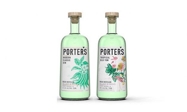 Porter's Gin asegura la distribución en EE.UU.